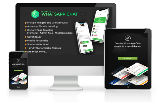 whatsapp chat widget for your website